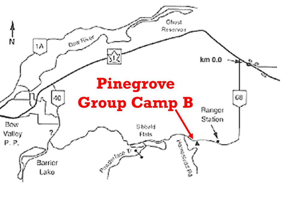 Pinegrove Map